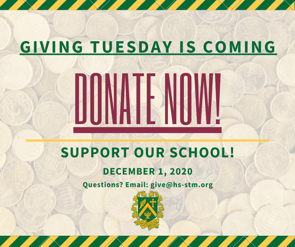 Giving Tuesday is Coming - 11/23
