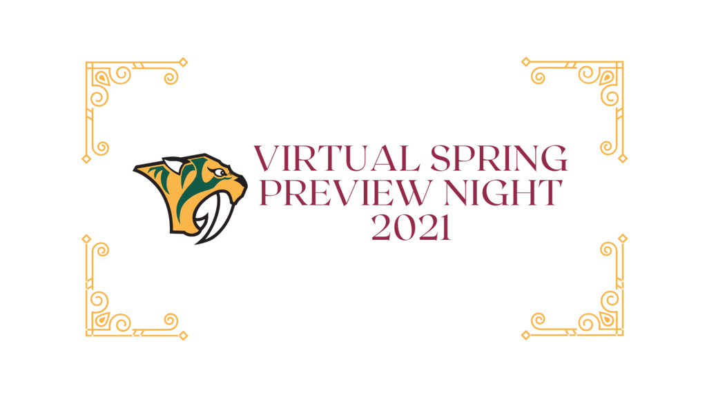 Virtual Spring Preview Night