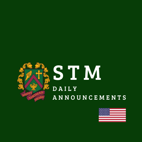 STM Daily Announcements