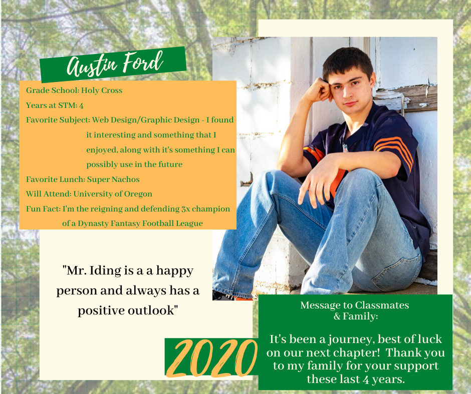 Austin Ford Senior Spotlight