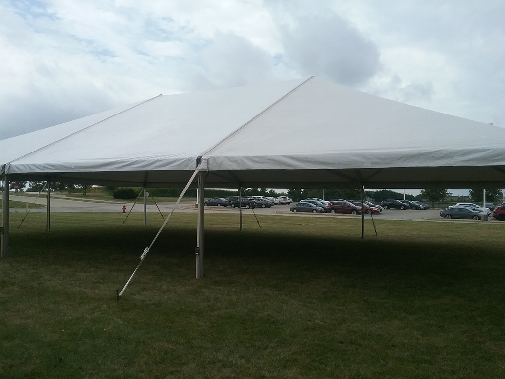 Tent up 7