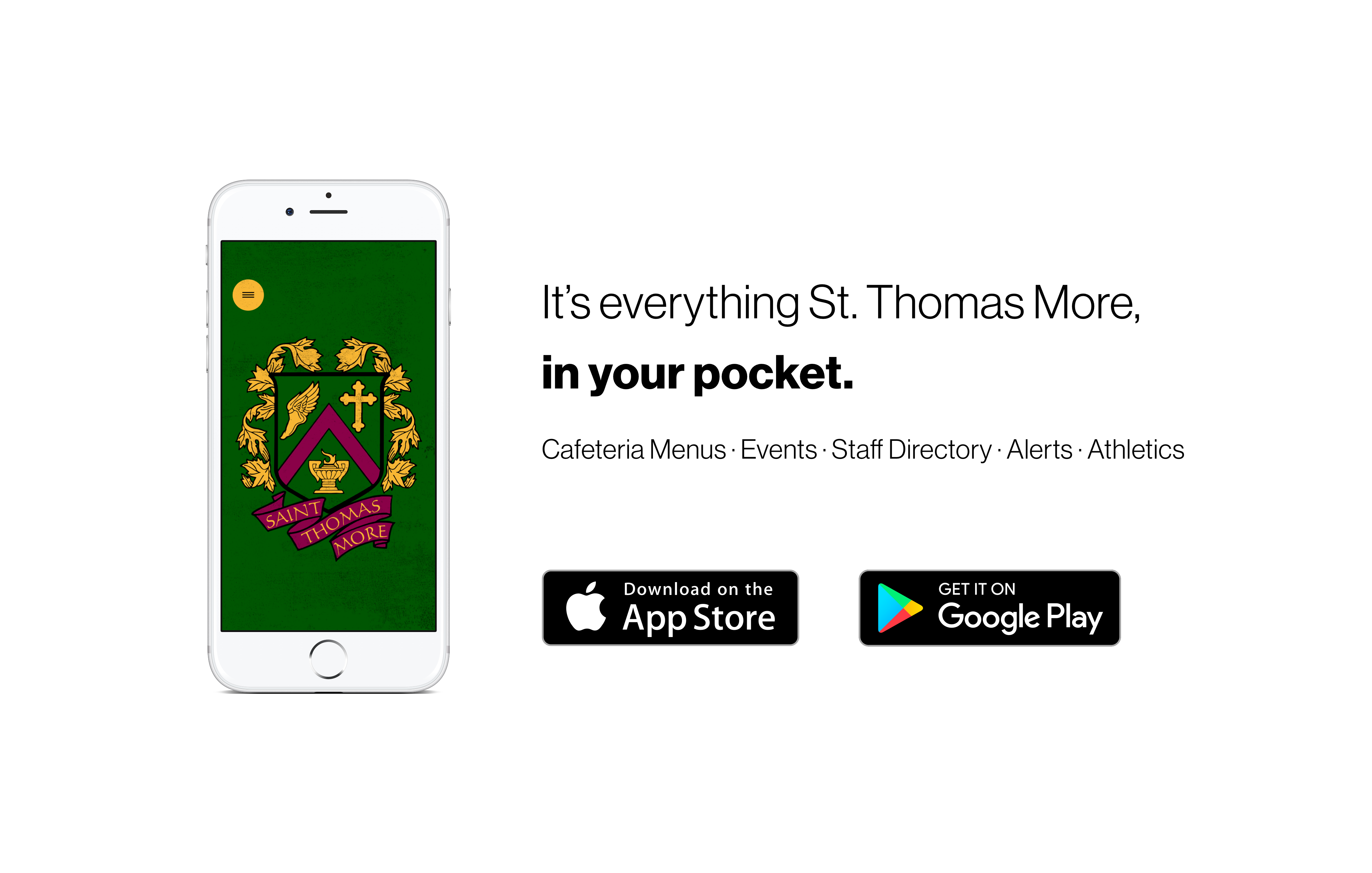 It's everything Saint Thomas More, in your pocket!